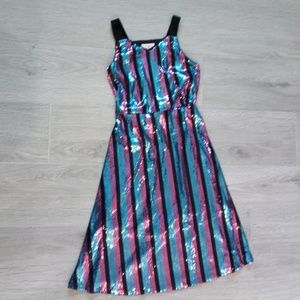 Gianni Bini Girls Sequined Holiday Party Dress